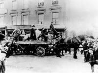 Ox roast staged to mark the coronation of Edward VII