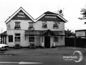 The Goat pub, Mitcham