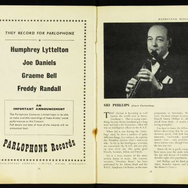 National Federation of Jazz Organisations, Royal Festival Hall - 1955 011