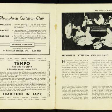 National Federation of Jazz Organisations, Royal Festival Hall - 1955 004