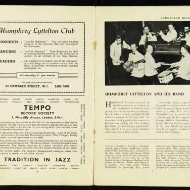 National Federation of Jazz Organisations, Royal Festival Hall - 1955 004