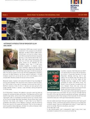 Burma Star Memorial Fund Newsletter Issue 2