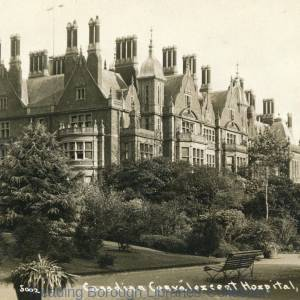 Canadian Convalescent Hospital, the House at Bear wood, Bearwood, 1910-1919.