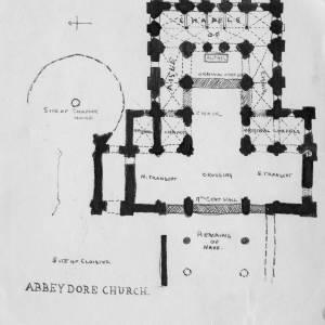 Abbey Dore Church Plan