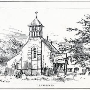 St Junabius Church, Llandinabo