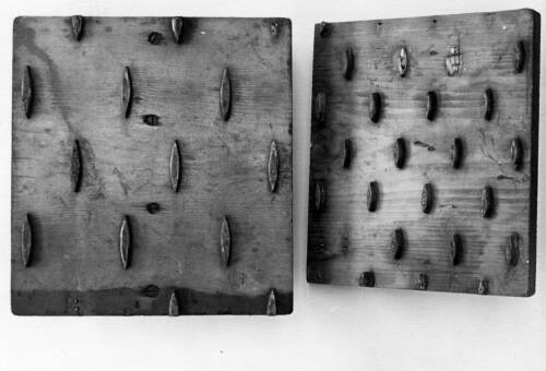 12 Ermine-Skin Printing Block, c1900