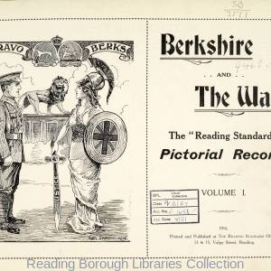 Berkshire and The War, The Reading Standard, Volume 1