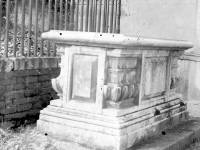 Tomb of Ann Hallam, 1880