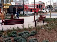 London Road, Morden: Civic Centre Forecourt