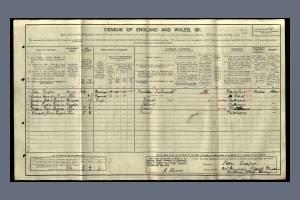 CooperP 1911 census   30 Denison Road