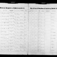 Burial Register 87 - March 1951 to April 1953
