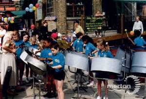 Merton Abbey Mills: Junior School Music Band