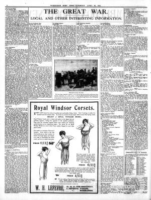 24 APRIL 1915