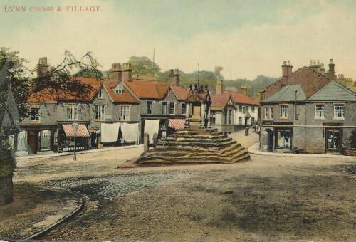 Lymm Cross and Village