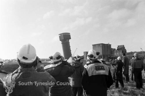 Demolition of Westoe Crown