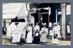 Women's Social and Political Union - Wimbledon Branch