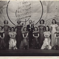 Photograph - unknown performers on stage