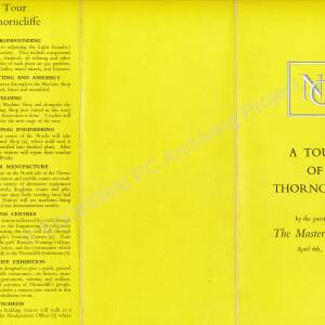 A Tour of Thorncliffe 6th April 1967