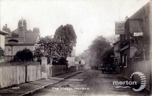 Central Road: The Plough, Morden