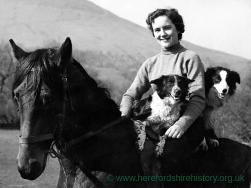 Herefordshire Miss Farmer, Doris Jones
