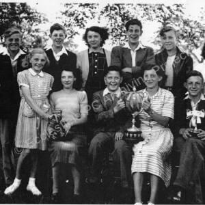 High Green Secondary Modern School, Sports Day 1950