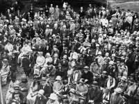 The opening of Lord Middleton of 'Raydon', London Road, Mitcham as Conservative Headquarters