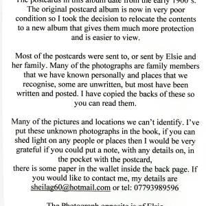 Elsie Stone collection - explaination