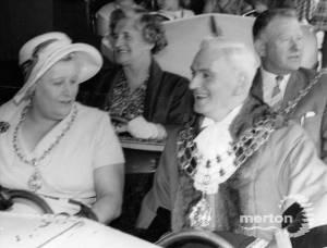 Mitcham Fair opening Ceremony C A Norris