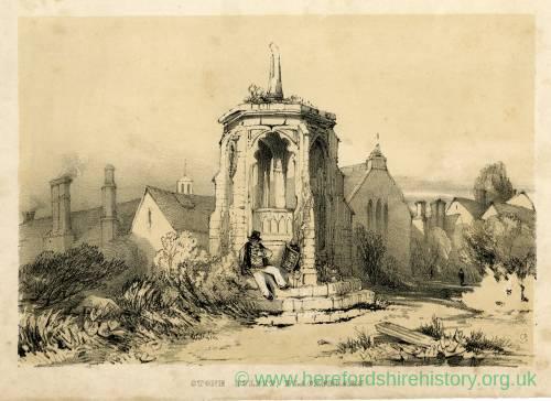 Stone Pulpit, Blackfriars