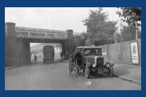 Streatham Road Bridge, taken from Streatham side
