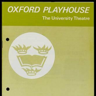 Oxford Playhouse, February 1975