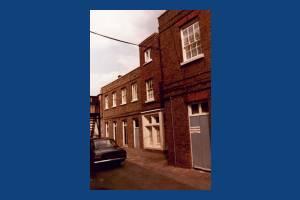 Long Lodge, Kingston Road, Merton Park: Rear view
