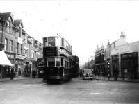 Merton High Street : Last day of tram service