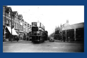 Merton High Street : Last day of tram service