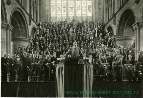 London Symphony Orchestra, Hereford Cathedral, 1946