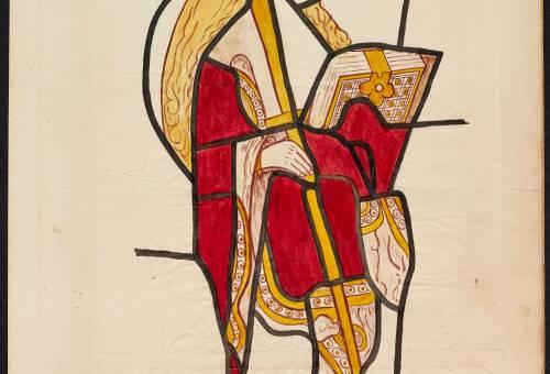 Ashton Church, stained glass