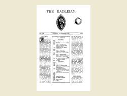 The Radleian 1931 - No. 519 November