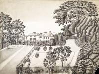Glebe Villa, Mitcham: East Front