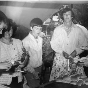 St John's Church Scout Group Chapeltown. July 1986