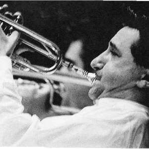 125 - Portrait of Kenny Ball playing trumpet