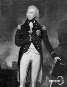 Portrait of Admiral Lord Nelson