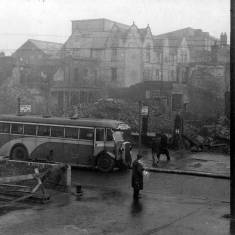 Bomb Damage to Market Place.