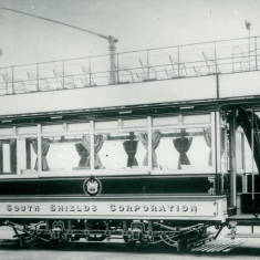 South Shields Corporation tram car 23