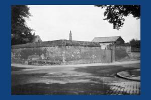Church House:  Old Walls in Church Lane