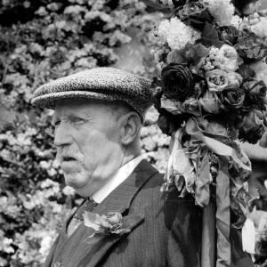 Gentleman at Fownhope Flower Walk and Aero Campaign photo