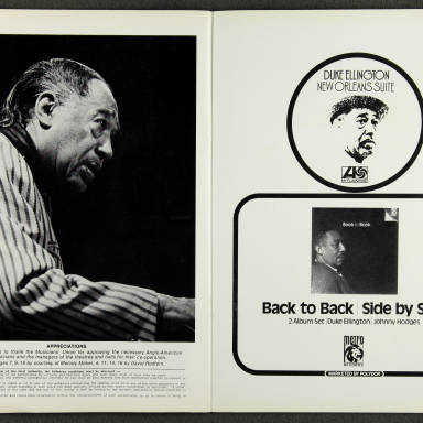 Duke Ellington Orchestra British Tour - October 1971 009