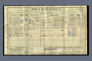 1911 Census for 13 Briscoe Road, Colliers Wood