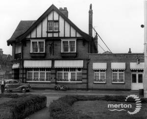 Kingston Road, The Old Leather Bottle, Merton Park
