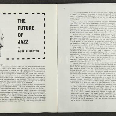 Duke Ellington Orchestra British Tour – October 1958 005