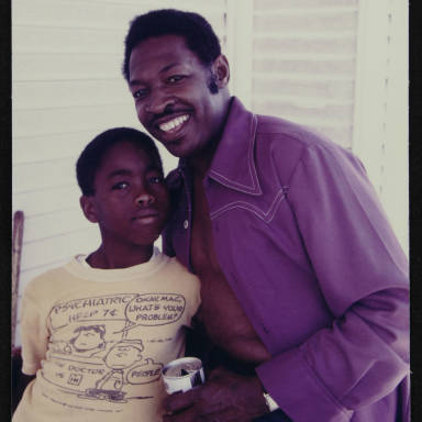 Lafayette 'Thing' Thomas & Son, 1971.